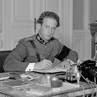 Battle of Belgium - King Leopold III, Belgian head of state, who was partisan of the policy of neutrality