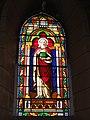Lesperon (Landes) église, vitrail 09.JPG
