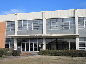 Wiley College - Image: Library at Wiley College, Marshall, TX IMG 2358