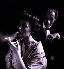Lilli Palmer (with husband Rex Harrison), 1950.