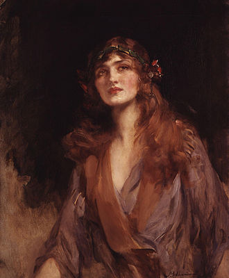 Lily Elsie - Lily Elsie, by James Jebusa Shannon, c.1916
