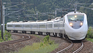 681 series - A JR-West 681 series train on a Hakutaka service in September 2014