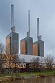 Linden power plant Elisenstrasse Ihme river Linden-Nord Hannover Germany 01.jpg