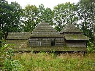 Liskowate Village in Subcarpathian Voivodeship, Poland