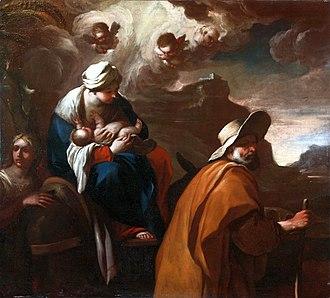 Johann Liss - The Flight into Egypt, Palace of the Kraków Bishops in Kielce