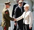 Lithuanian army commander Arvydas Pocius Presidential Inauguration 3.jpg