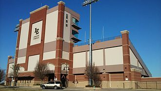 Little Elm, Texas - Little Elm ISD Athletic Complex Stadium in Little Elm, Texas.