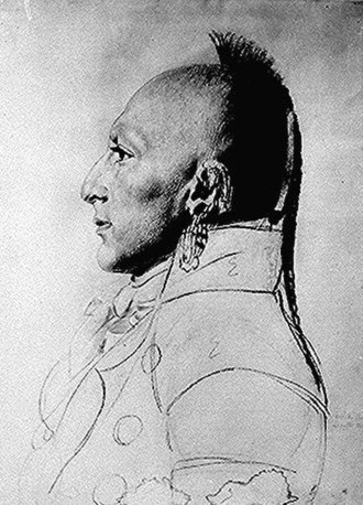 Osage Nation - Chief of the Little Osage, c. 1807