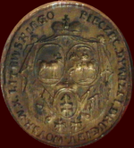 Little seal of the 2nd Division of Grand Duchy of Lithuania.PNG
