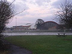 Littledown, leisure centre and pond - geograph.org.uk - 639185.jpg
