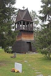 Fil:Ljungdalens kapell klockstapeln.jpg
