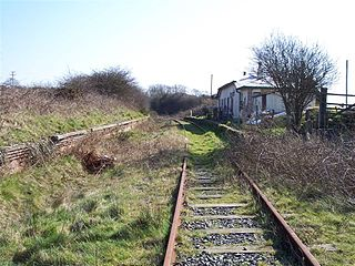 Llangwyllog railway station Disused railway station in Anglesey, Wales