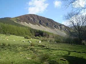 Llwytmor - Llwytmor Bach from near Aber Falls