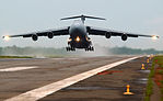 Lockheed C-5 Galaxy take off.jpg