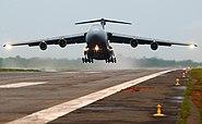 Lockheed C-5 Galaxy take off