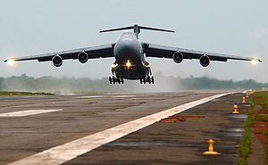 Solano County, California - Image: Lockheed C 5 Galaxy take off