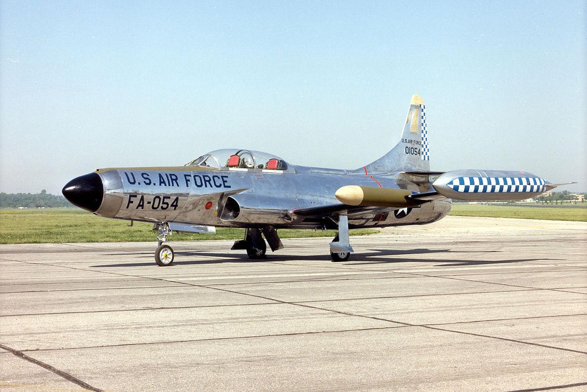 Px Lockheed F C Starfire Usaf on Lockheed P 80