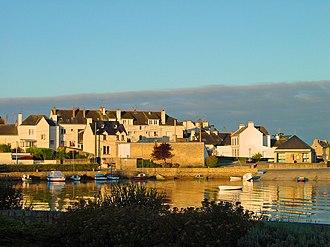 Canton of Hennebont - View of Locmiquélic