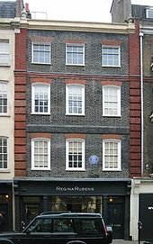 Handel House at 25 Brook Street, Mayfair, London (Source: Wikimedia)