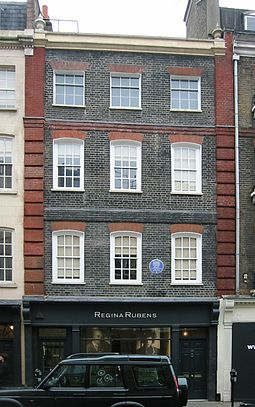 Handel House at 25 Brook Street, Mayfair, London London Handel House.jpg