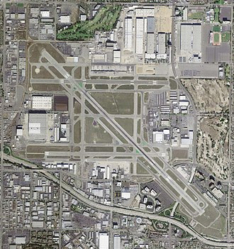 Long Beach Airport - USGS image March 2004