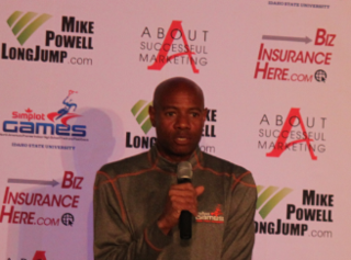 Mike Powell (long jumper) Athletics competitor, long jumper