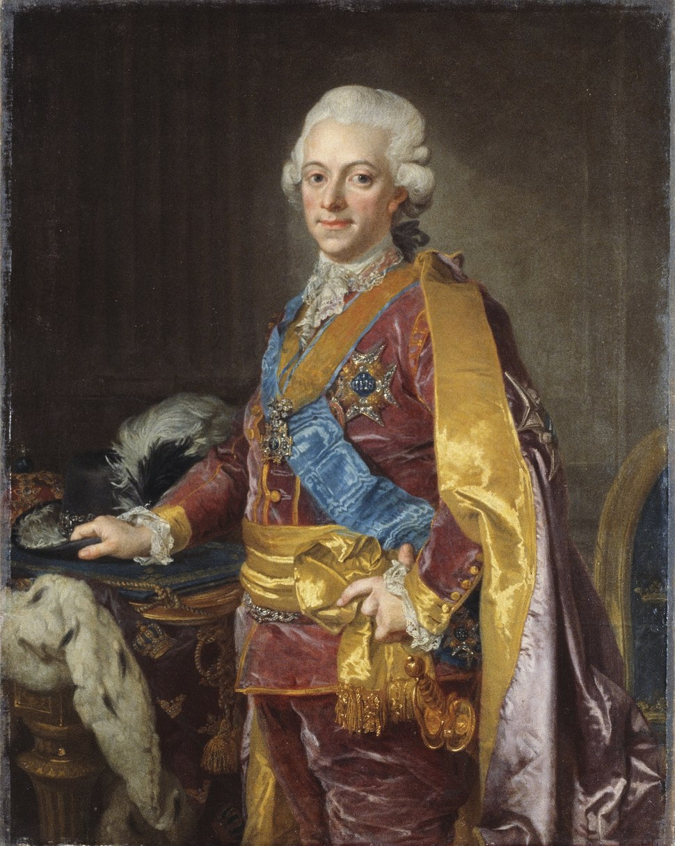 Lorens Pasch the Younger - Gustav III, King of Sweden 1772-1792 - Google Art Project