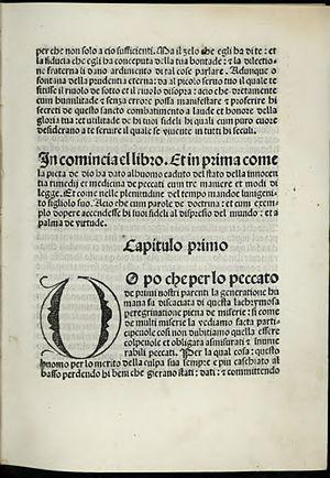 Lawrence Giustiniani - Image: Lorenzo ita, Anno MCCCCLXXXXIIII … a XX de octobrio del anno supra notato 1578805 I