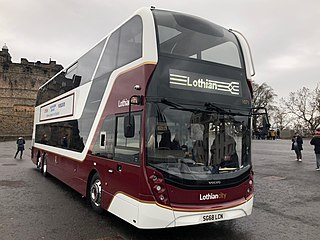 Lothian Buses The largest municipal bus company in the United Kingdom