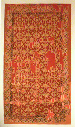 Lotto carpet - Lotto carpet, Western Anatolia, Uşak, 16th century. Turkish and Islamic Arts Museum.