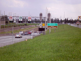 Louis-Hippolyte Lafontaine - Image: Louis H Lafontaine Tunnel