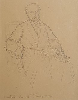 Louis Roux – Pencil Portrait of Henri Fontenilliat – Circa 1860.jpg