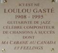 Loulou gaste plaque rue saint ferdinand 75017.png
