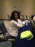 LourdesE Wikimania 2015.jpg