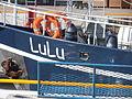 LuLu Anchor and Name Tallinn 28 April 2013.JPG