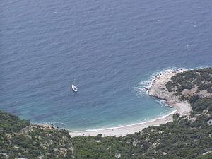 Lubenice - Image: Lubenice beach