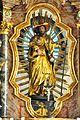 Ludmannsdorf Pfarrkirche Hochaltar Schnitzfigur Heiliger Jakob der Ältere 20110616 877.jpg