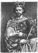 Portrait of Louis I of Hungary by Jan Matejko