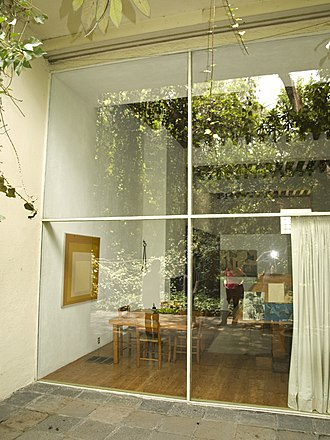 Luis Barragán House and Studio - The view from the garden