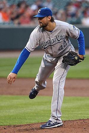 Luke Hochevar - Hochevar with the Royals in 2011