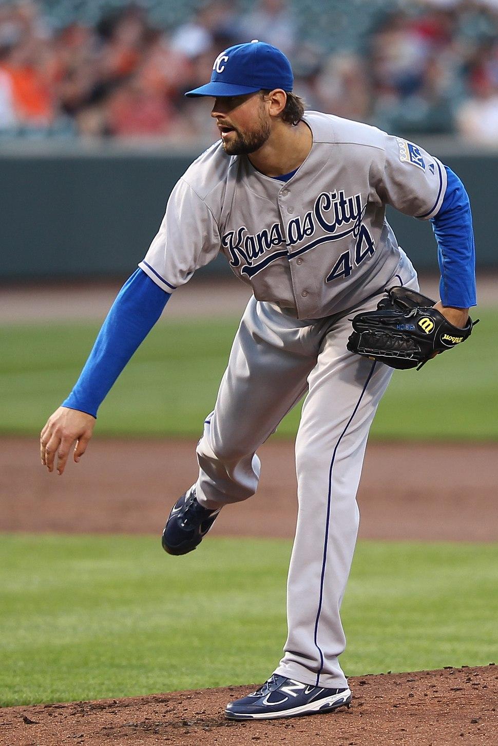Luke Hochevar on May 25, 2011