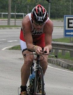 Luke McKenzie triathlete