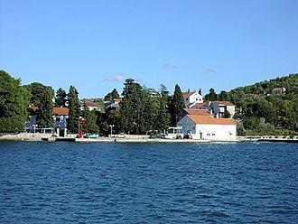 D110 road (Croatia) - Lukoran, next to the D110 road route