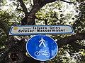 Lungo Talvera Gries - Grieser Wassermauer (bilingual road sign in Bolzano).jpg