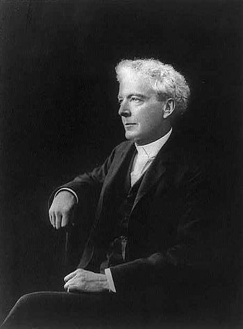 American botanist Luther Burbank (1849-1926)