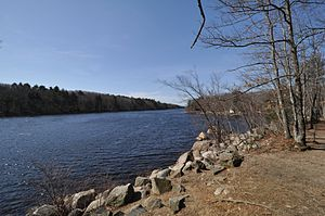 Lynn Woods Reservation - Walden Pond, the reservation's largest body of water