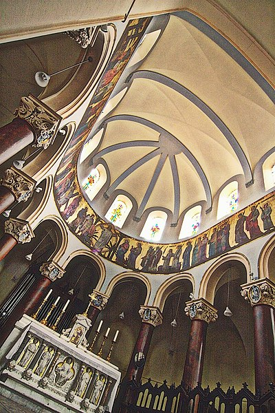 File:Lyon Saint Pierre frise du chœur.jpg