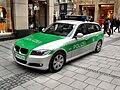 München- Innenstadt (bei Frauenkirche)- Streifenwagen der Polizei Bayern (BMW M-PM-9036) 1.4.2010.jpg