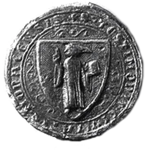 Coat of arms of Munich - Small seal, 1304