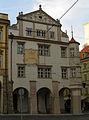 Měšťanský dům (Malá Strana), Praha 1, Malostranské nám. 20, Malá Strana.JPG
